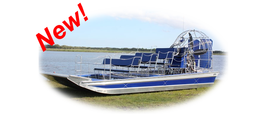 Our New 18 Passenger Airboat