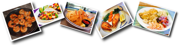 Crazyfish's, of Jacksonville Beach, Florida, Menu Entrees